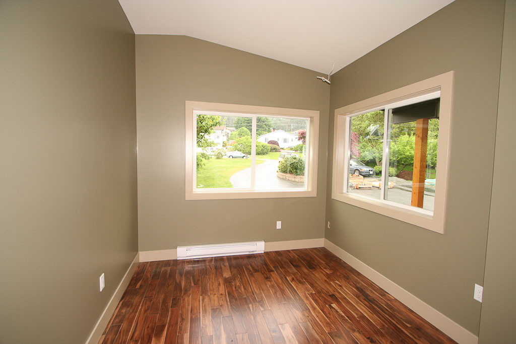 Dark Taupe Painted Walls