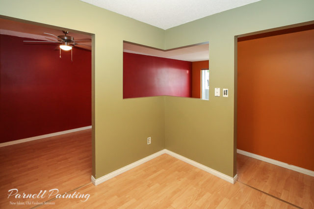 Process of an interior paint job from start to finish Priming walls before painting