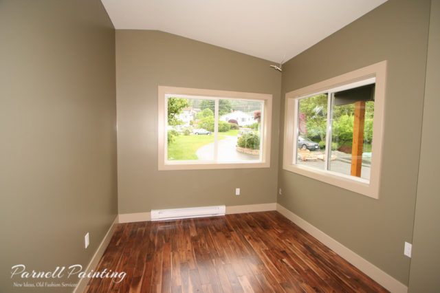Interior professional painting nanaimo bc for Sage green interior paint