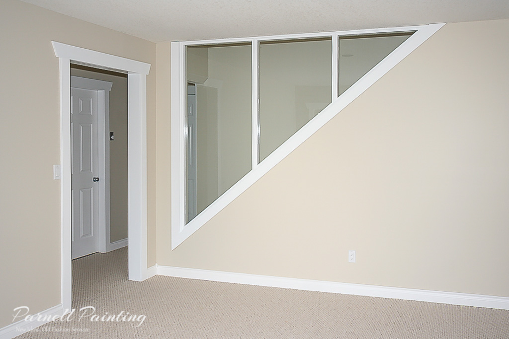 Semi Gloss Painted Closet Doors