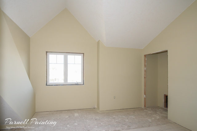 Process Of Painting A New Construction Home