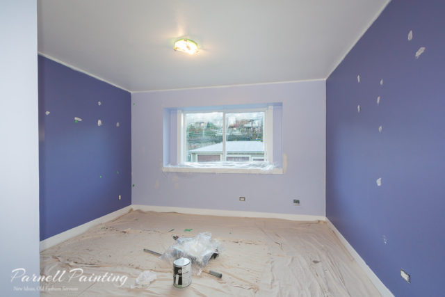 Process Of An Interior Paint Job From Start To Finish