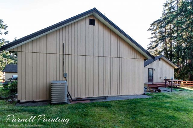 exterior before and after painting photos
